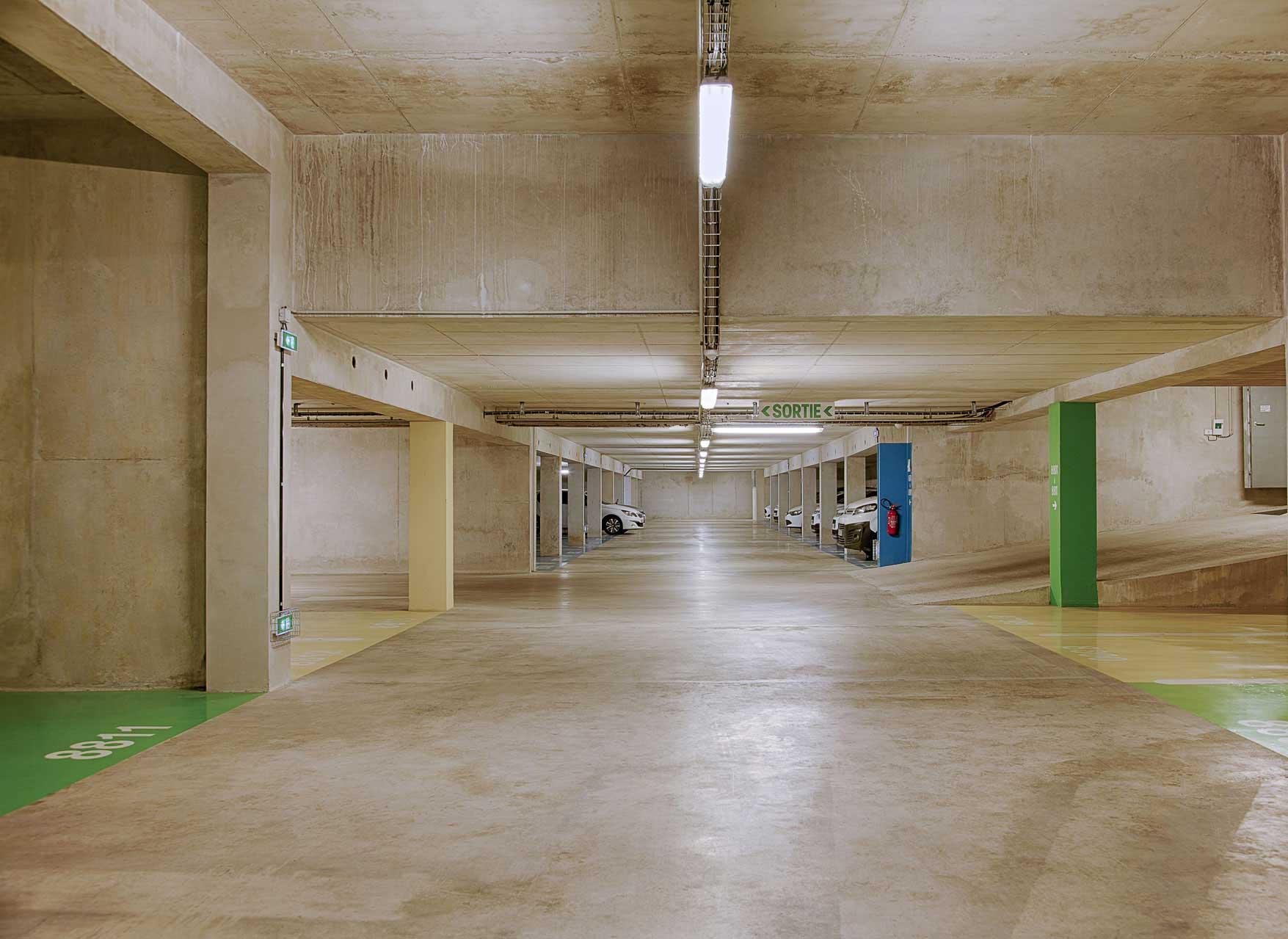 Parkings de stationnement et facility management avec Tisspark & Facilities